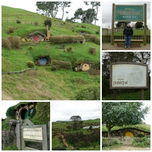 Hobbiton collage